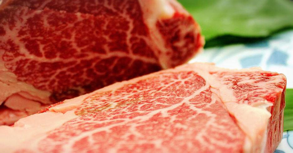 阿波の黒毛和牛ステーキ